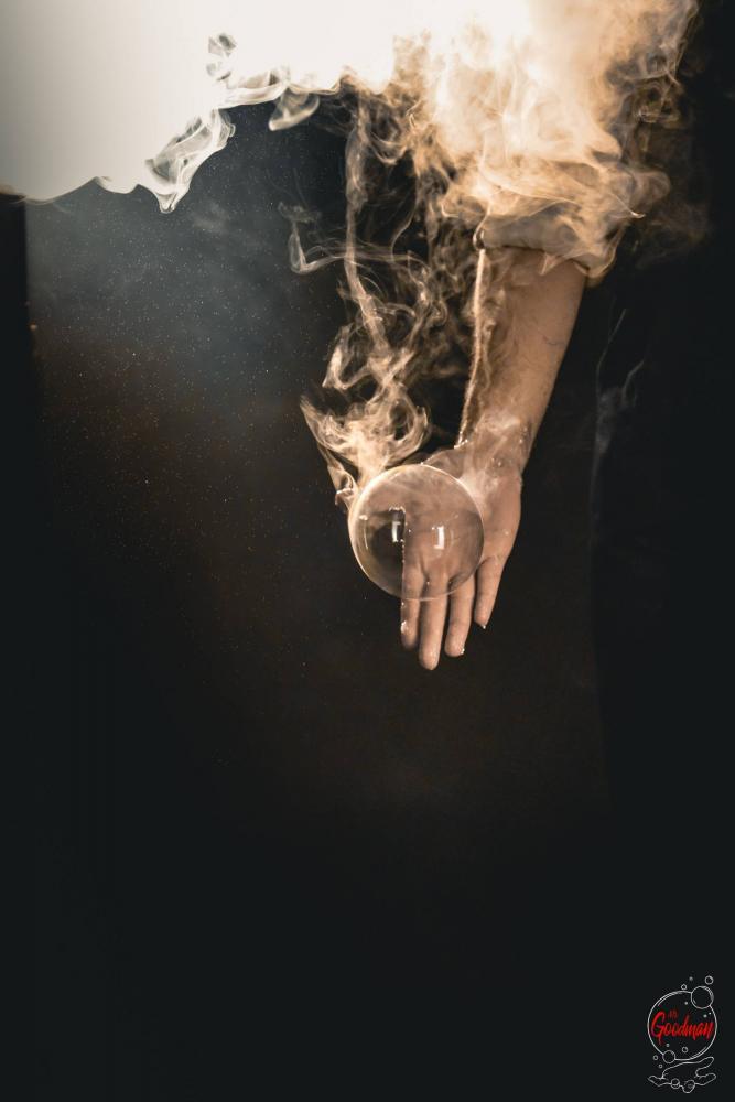 Fumo e bolle di sapone