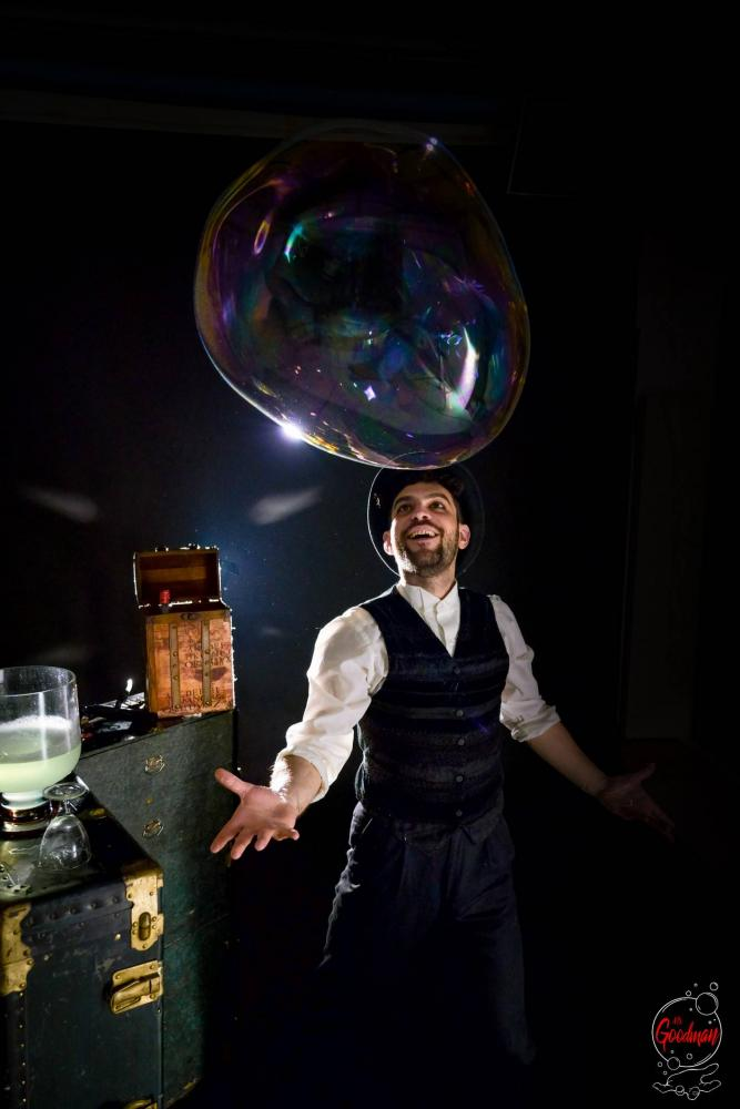 Soap Bubble Show Thomas Goodman Bolle di Sapone 24