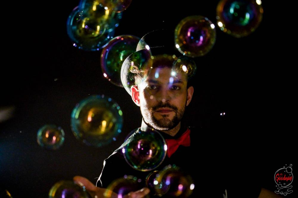 Soap Bubble Show Thomas Goodman Bolle di Sapone 46