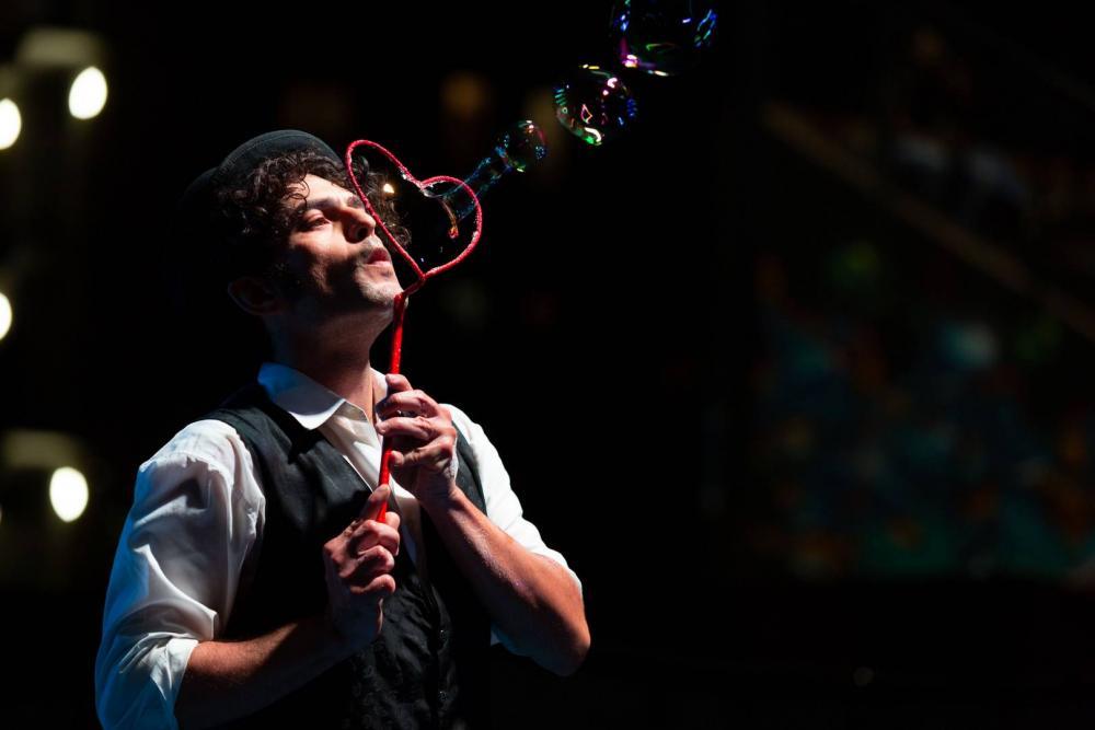 Spettacolo Bolle di Sapone giganti Thomas Goodman Soap bubble 28