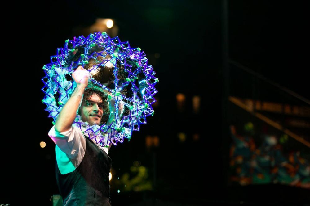 Spettacolo Bolle di Sapone giganti Thomas Goodman Soap bubble 31
